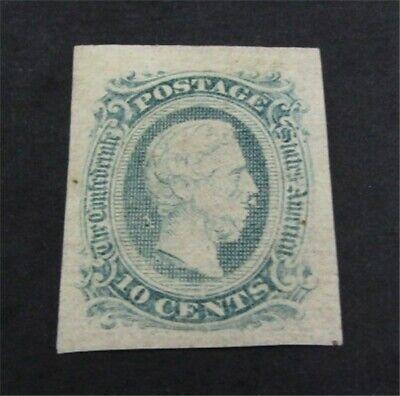 nystamps US CSA Confederate Stamp # 11C Mint OG H $30   L23x1644