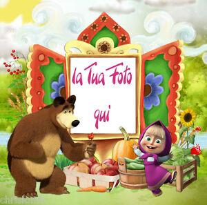 1000 images about cartoline di compleanno on pinterest for Immagini masha e orso da colorare