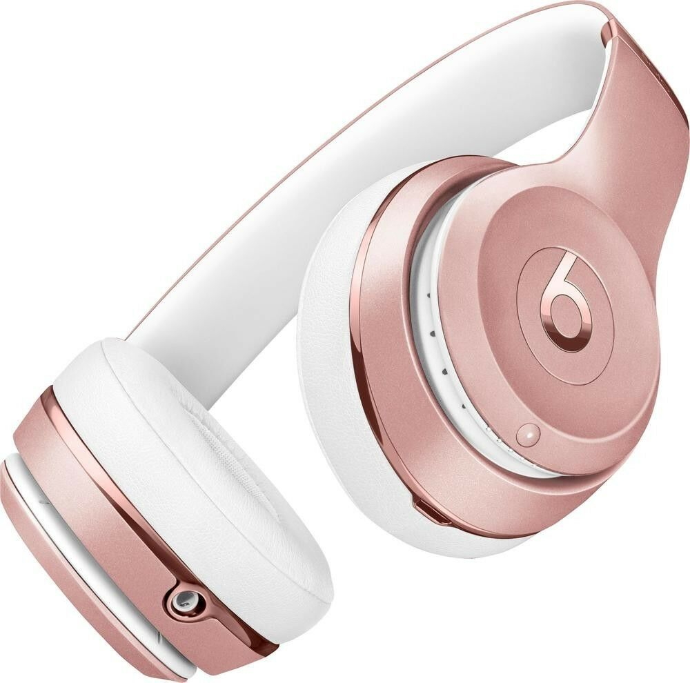 Beats By Dre - Beats by Dr. Dre Solo 2 Wireless Headband Wireless Headphones - Rose Gold