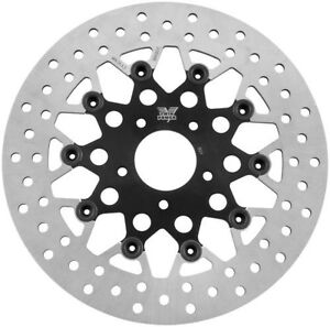 What Size Rotors For A  Harley Davidson Flhtcu