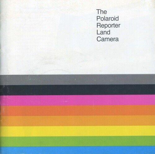 Polaroid Reporter Land Camera Instruction Manual