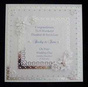 Personalised Wedding Cards Daughter