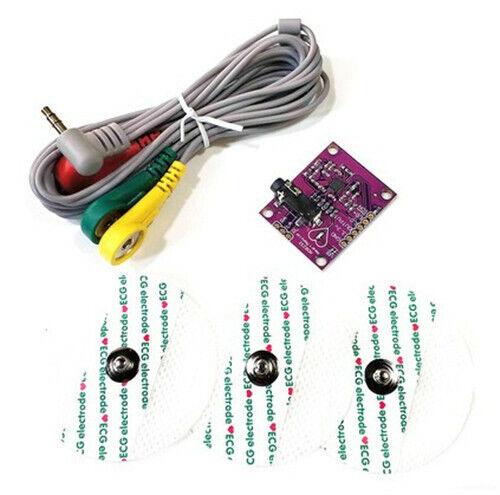 1pc Ecg Measurement Ad8232 Pulse Heart Ecg Kit Duinofun Compatible