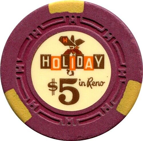 Holiday In Reno, $5 Casino chip