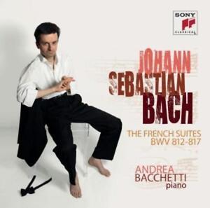 CD Johann Sebastian Bach The French Suites BWV 812-817 Andrea Bacchetti Doppel