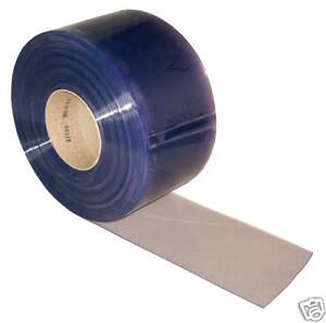 Clear Flexible PVC Door Strip/Curtain 100mm x 2mm x 10mtr