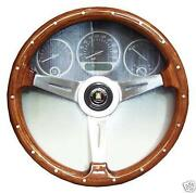 Woodgrain Steering Wheel