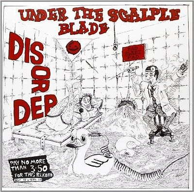 Disorder   Under The Scalpel Blade  New Vinyl