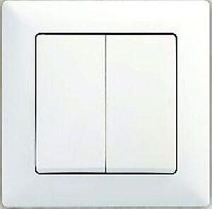 Serienschalter-Lichtschalter-Steckdose-Dimmer-Rahmen