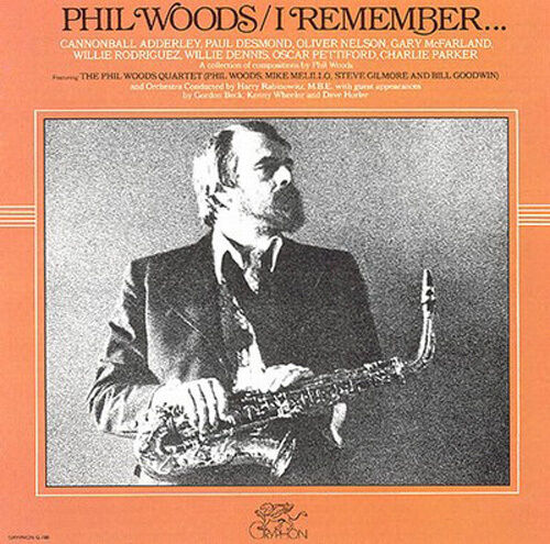 #619 SEALED Uncut  Audiophile DCC CD PHIL WOODS I  Remember - Hoffman Master cr