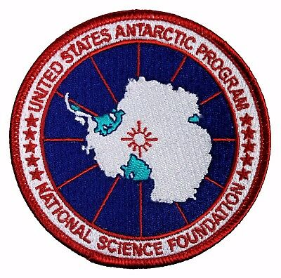 United States Antarctic Program Embroidered Patch - Antarctica USAP NSF - NEW