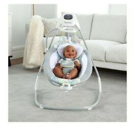 Ingenuity baby 'cradling swing' chair and rocker