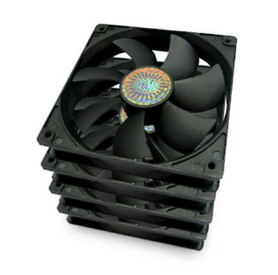 Cooler Master R4-S2S-124K-GP Silent Fan 120 S12 120mm Computer Case Fan 4-Pack