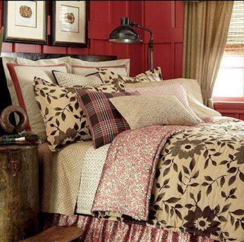 Queen Comforter Set Coral Ebay