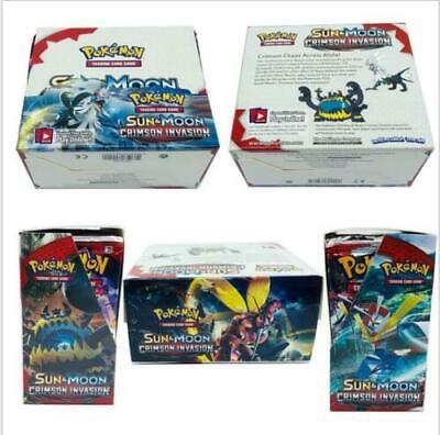 324pcs Pokemon TCG Booster Box English Edition Break Point 36 packs cards UK