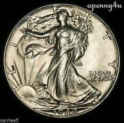 Walking Liberty Half Dollar Uncirculated