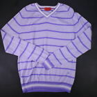isaia Purple Sweaters for Men