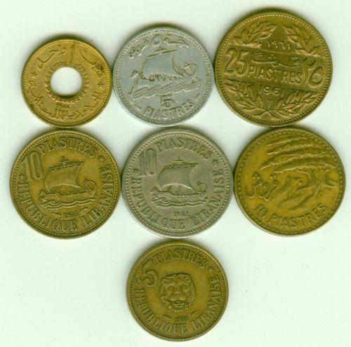 Lebanon Coins Ebay