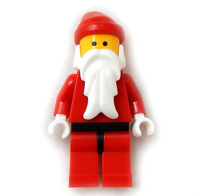 New Lego Santa Claus Minifig Christmas Minifigure Figure Person Holiday Advent