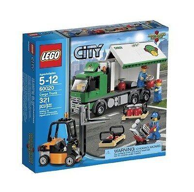 60020 CARGO TRUCK city town lego NEW sealed legos set FORK LIFT forklift
