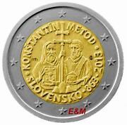2 Euro Slowakei 2013