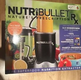This nutribullet Rx is brand new and has not been used.