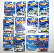 Hot Wheels Blue Card Lot