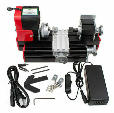 20000rmin Miniature Multifunction Diy Cnc Metal Motorized Mini Lathe Machine