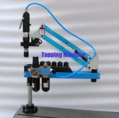 Universal Flexible Arm Pneumatic Air Tapping Machine 360 Angle 1000mm M3-m16 Ax