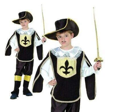 Kinder Musketier Kostüm Jungen Französisch Kavalier Kostüm Buch - Französische Kostüm Kinder