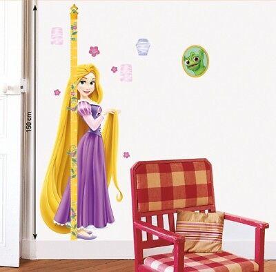 Kinder Wandtattoo Disney Prinzessinnen Messlatte Kinderzimmer Aufkleber Sticker ()