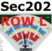 Van Halen Aug 7 - 2/4 tix - Sec. 203 Rows C and D, Sec 202 Row L