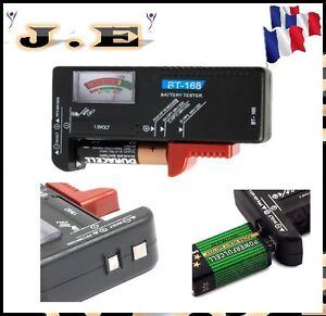 Testeur de batterie pile piles 1 5 v aa aaa c d r03 lr6 for Testeur de piles darty