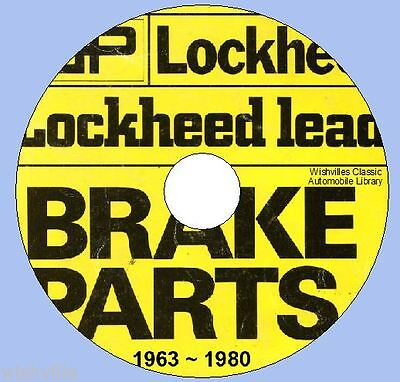 Lockheed Brake Parts  iNFORMATION dvd circa 1963~1980