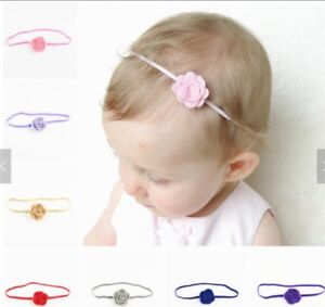 21 Baby Girl Flower Headbands and Pins. New Retail Samples