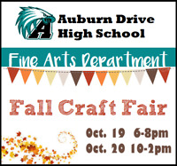 Auburn Drive High Fall Craft Fair