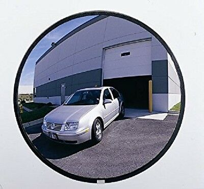 "New 18"" Convex Mirror Non Shattering Indoor/Outdoor Industrial Rated Security"