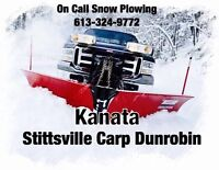 On Call Snow Removal Service