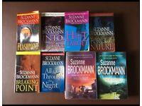 8 Suzanne Brockman books