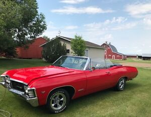 Stunning Red 67 Impala SS Convertible