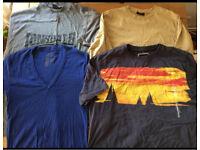 Men's T-shirts bundle size Large
