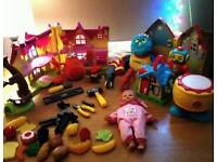 Lots of kids toys