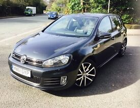 VOLKSWAGEN GOLF 2.0 GTD TDI DSG 5DR Semi Automatic (grey) 2012