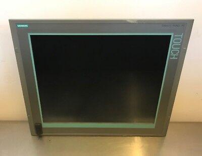 Siemens Simatic Ipc477c 19 Interface Touch Screen Panel Hmi 6av7424-0aa00-0gt0