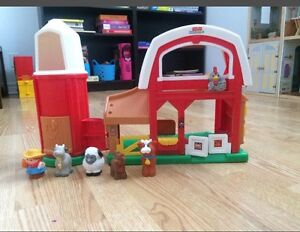 Petit Ferme Fisher Price Little People (jouets pour garderie)