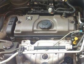 Peugeot 206 1.4 Engine (2002)