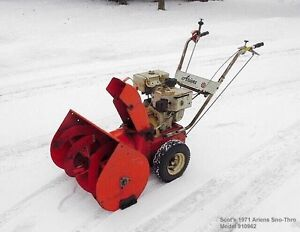 Free pick up of snowblowers, lawn mowers, pressure washers, etc
