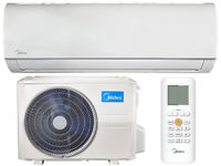 Midea Blanc Wall Mount 3.5KW Air Conditioning System