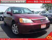 2003 Honda Civic LX | 149Km | SOLD