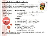 Ironing Collection & Delivery Service